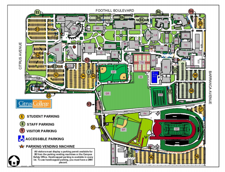 Campus Map mycitruscollegeedu